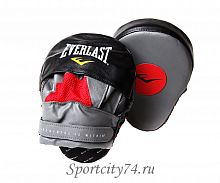 Лапы изогнутые Everlast Mantis Punch Mitts красно-черный